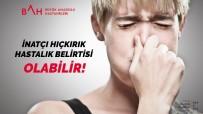 İnatçı Hıçkırık Hastalık Belirtisi Olabilir