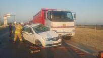 İzmir'de Feci Kaza Açıklaması 1 Ölü, 3 Yaralı