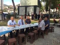 ALI SıRMALı - Kaymakam Sırmalı Gazicelal, Pınarbaşı Ve Soğanyemez Mahalle Hayırlarına Katıldı