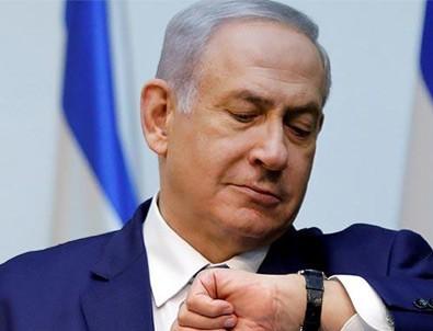 Netanyahu seçime saatler kala soluğu orada aldı