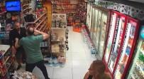 12 EYLÜL - (Özel) Beyoğlu'nda Marketten Para Çalan Hırsız Sert Kayaya Çarptı