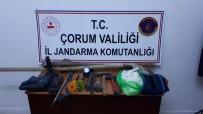Sungurlu'da Kaçak Kazıya Suçüstü