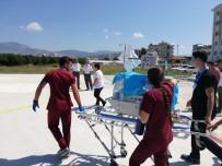 400 Gram Doğan Prematüre Bebek İçin Ambulans Helikopter Havalandı