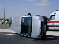 Aksaray'da Trafik Kazası Açıklaması 5 Yaralı