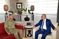 Albay Dere'den Başkan Ergün'e Veda Ziyareti