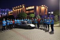 Bartın Üniversitesi'nin İkinci Elektrikli Otomobili 'Gökbörü' Pistlerde