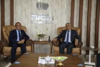 Başkan Güder'den MASKİ'ye Ziyaret