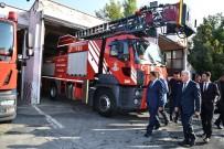 KEMAL SUNAL - Başkan Gürkan, İtfaiye Personelleri İle Bir Araya Geldi
