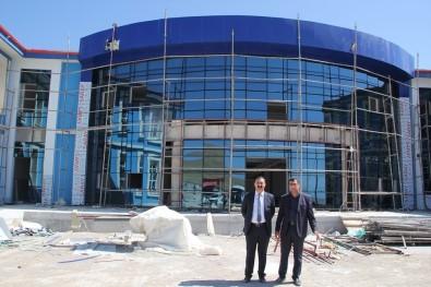 Başkan Süer'den Van Et Ve Süt Kombinası Müdürlüğü Binasında İnceleme