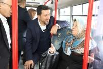 Belediye Başkanı Makamına Halk Otobüsü İle Gitti
