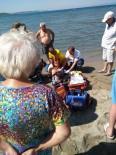 Burhaniye'de Boğulma Tehlikesi Geçiren Vatandaşı İtfaiye Kurtardı