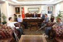 Melikgazi'den Bedensel Engelliler Spor Kulübü'ne Destek