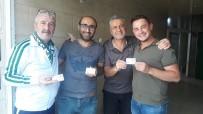 Salihli Belediyespor'a Destek İçin Kapı Kapı Dolaştılar