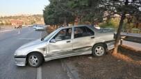 Samsun'da Tır Otomobile Çarptı Açıklaması 1 Yaralı