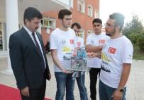 SUBÜ Öğrencilerinin Su Altı Aracı Aracı Teknofeste