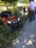 Türkeli'de ATV Aracı Devrildi Açıklaması 1 Yaralı