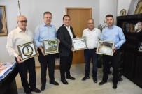 Zeytinyağı İşletmecisi Bilen'den Başkan Dutlulu'ya Ziyaret
