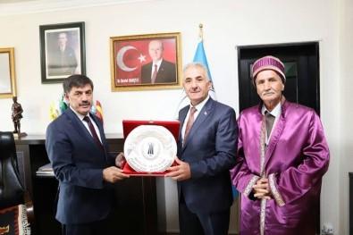 Ahilik Komitesi Başkan Aksun'u Ziyaret Etti