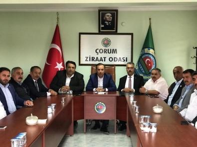 AK Parti'den Ziraat Odası Başkanlarıyla İstişare