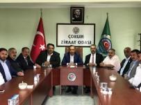 DEVLET KATKISI - AK Parti'den Ziraat Odası Başkanlarıyla İstişare