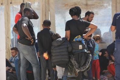 Ayvalık'ta 48 Düzensiz Göçmen Sahil Güvenlikten Kaçamadı