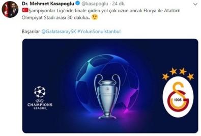 Bakan Kasapoğlu Açıklaması 'Başarılar Galatasaray, Yolun Sonu İstanbul'