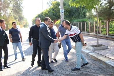 Başkan Canpolat İki Mahalleyi Ziyaret Etti