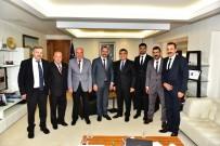 Başkan Kavaklıgil, Bakan Yardımcısı Kaykamcı'yı Ziyaret Etti