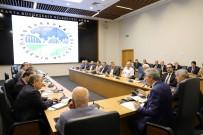 ZIYA CEVHERLI - Başkan Yüce Büyükşehir, SASKİ Ve BELPAŞ Bürokratlarıyla Buluştu
