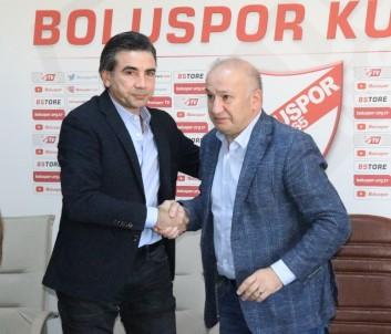 Boluspor, Osman Özköylü İle 2 Yıllık Sözleşme İmzaladı