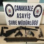 Çanakkale'de 8 Yağmacı Yakalandı