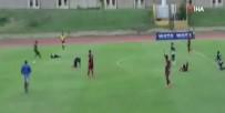 Futbol Maçı Sırasında Oyunculara Yıldırım Çarptı