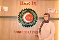 HAK-İŞ Kadın Komitesi Başkanı Zengin Açıklaması 'Evlat Nöbeti Tutan Analarımızın Yanındayız'