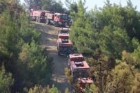 Hatay'da 25 Noktada Çıkan Yangında Soğutma Çalışmaları Sürüyor