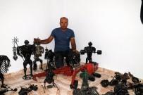 Hurdaları Sanat Eserine Dönüştürüyor