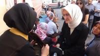 KADEM'den HDP İl Binası Önünde Evlatları İçin Eylem Yapan Ailelere Destek Ziyareti