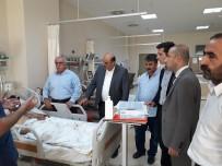 Kaymakam Özadalı, Kulp Saldırısında Yaralanan Vatandaşları Hastanede Ziyaret Etti