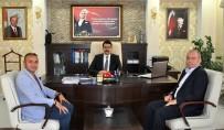 Kızılay Erzurum Bölge Kan Uzmanı İrfan Küçük'ten, Kaymakam Coşkun'a Ziyaret