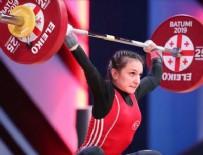 Milli haltercimiz altın madalya kazandı