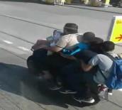 OKUL SERVİSİ - Okul Servisi Gibi Motosiklet