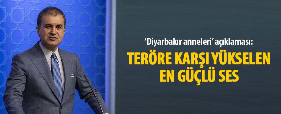 AK Parti Sözcüsü Ömer Çelik: Annelerin yaklaşımı dünya üzerinde teröre karşı yükselen en güçlü ses