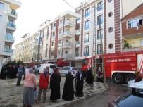 Sancaktepe'de 5 Katlı Apartmanda Yangın Paniği