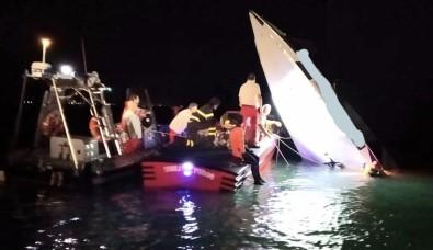 Sürat Teknesi Kaza Yaptı Açıklaması 3 Ölü, 1 Yaralı