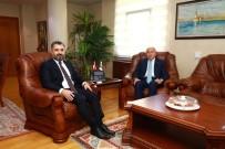 ARGO - TFF Başkanı Özdemir, RTÜK Başkanı Şahin'i Ziyaret Etti