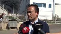 Tuzla Belediye Başkanı Yazıcı Açıklaması 'Yangın Bir Makineden Çıkmış, Can Kaybı Yok'