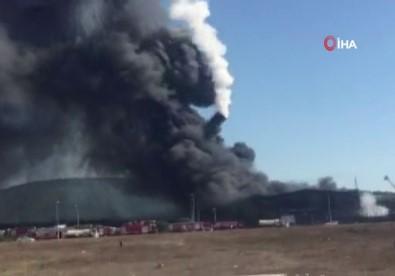 Tuzla'daki Patlamada Kopan Parça Böyle Düştü