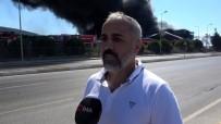 Tuzla'daki Yangında Vatandaş Panik Anlarını Anlattı