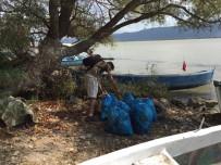 SıNıF ÖĞRETMENLIĞI - Üniversiteliler Gölyazı'yı Temizledi