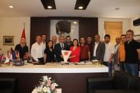 Alanya Gazeteciler Cemiyeti Resmen AGF'de