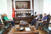 Başkan Güder'e, MÜSİAD'dan Ziyaret